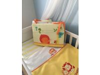 Jungle Cot Bedding