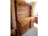 Large Solid Pine Welsh Dresser