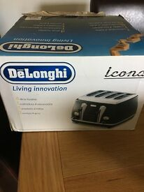 Delonghi Icona 4-slice toaster. Excellent condition.