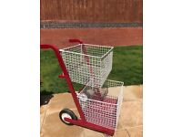 Mail Trolley Two Tier