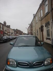 Excellent condition Nissan micra(se)52 first to see will buy. Fantastic inside & out great runner.