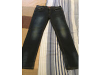 Men's Superdry Skinny Fit Wash Stretch JEANS £74.95 NEW WITHOUT TAGS! Label SIZE 36R