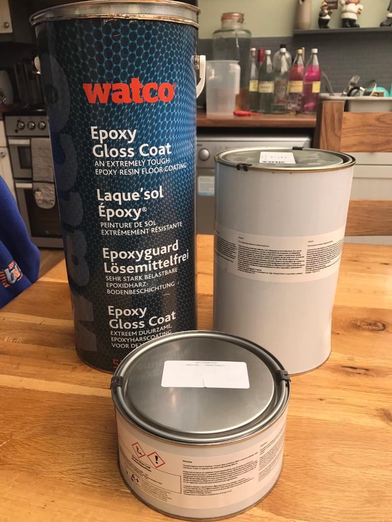 Watco Epoxy Resin Floor Paint In Idle West Yorkshire