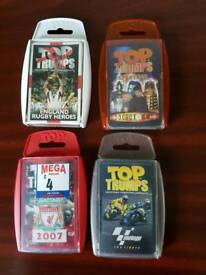 Top trumps lots to choose from