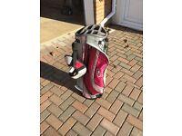 Ladies Top Flite golf carry bag