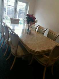CHEAP 8 seater dining table with chairs