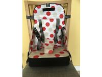 Toddler travel booster high chair seat