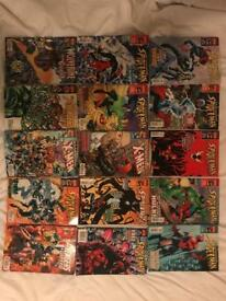 Marvel Collector's Edition Comic Books.