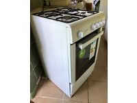 Brand New Gas Cooker. One hob used once only, oven never used