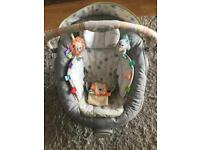 Comfort Taggies baby bouncer seat