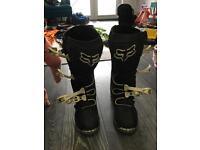 Fox f3 motocross boots
