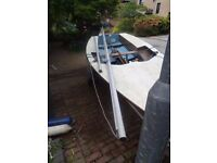 13ft Miracle sailing boat