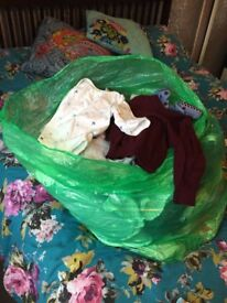 Large bag of boys clothes