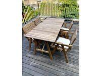 IKEA FALHOLMEN Outdoor Dining Set for 4
