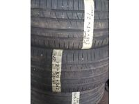 275/45/21 Pirelli tyres x2 pair LIKE NEW