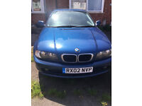 BMW 318Ci SE coupe,Spares or repairs
