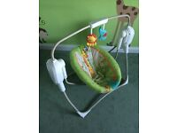 Fisher price rainforest friends space saver cradle 'n swing
