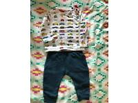 Ted Baker 6-9month 2piece Set
