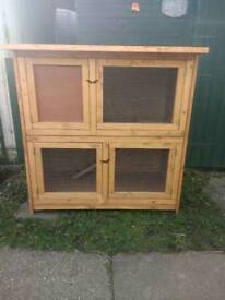Double ferret or guinea pig hutch NEW
