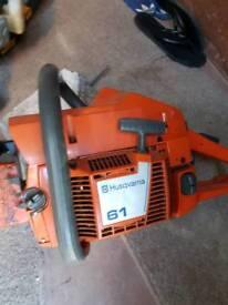 Husqvarna chainsaw 61