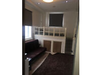 FURNISHED GROUND FLOOR LARGE STUDIO FLAT IN ACTON W3 , DSS WELCOME .