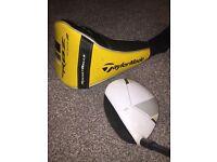 TaylorMade RBZ Stage 2 Driver Golf Club. Stiff Shaft. 9.5 Degrees.