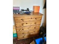Chest of Drawers - Solid Pine - Used - Good condition