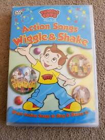 Tumble Tots Activity Songs DVD