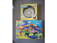 ***NEW*** SPONGEBOB GAME TABLE, 2 different games!!!rapid fire and pop up game