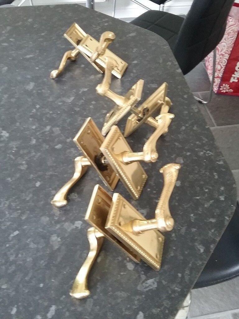 door handles(brass)