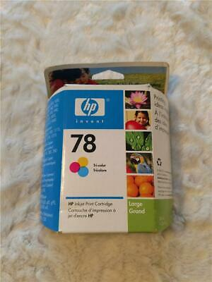 HP Ink Jet Print Cartridge Color 78 NEW - Blue Box Blue Inkjet Print Cartridge