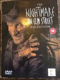 THE NIGHTMARE ON ELM STREET MOVIE BOX SET