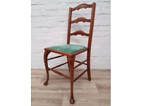 Queen Anne Style Side Chair (DELIVERY AVAILABLE FOR THIS ITEM OF FURNITURE)