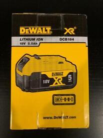 Dewalt XR 5Ah Battery Brand New