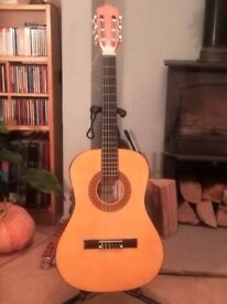 Great price for a 3/4 Classical Guitar with new strings