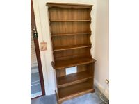 Ercol Vintage Large Waterfall Bookcase