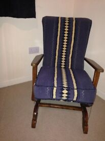 Vintage Rocking Chair 1950s or 60s