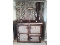 Rayburn Supreme Brown Solid Fuel Cooker