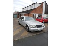 Mercedes S Class 500L Automatic Spares or repair