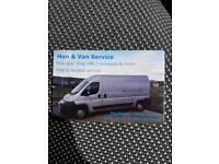 Man & Van Hire/ Removal Service