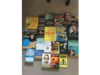 21 books all in excellent condition (great car boot material)