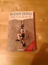 Paddy Clarke by Roddy Doyle. In paperback, 50p