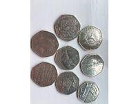 50p coins