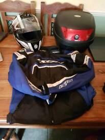 Helmet Jacket Topbox