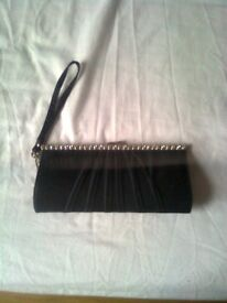 Ladies clutch bag, black, New Look