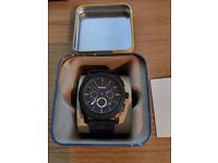MENS FOSSIL WATCH / WORTH £116 ONLY SELLING FOR £60 OR SWAPS ARE WELCOME