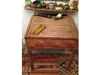 Pine clerk desk