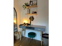 Retro 60s-style desk/dressing table