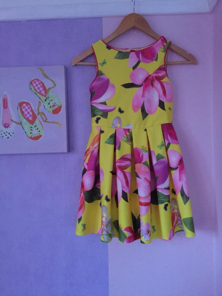 Girls ted baker dress age 8 brand new without tags