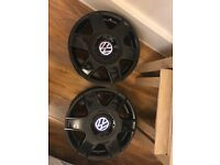 Vw alloys 16 inch 5x100 pcd new